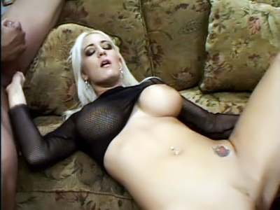 Big Boobed Blondie Screwed